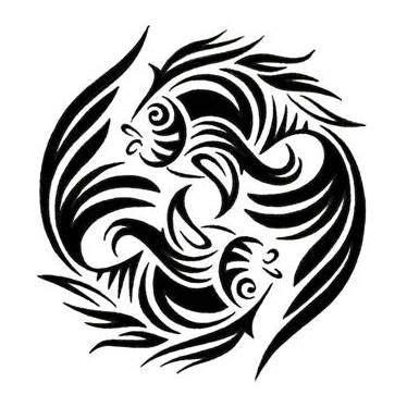 tribal pisces tattoo pisces tribal tattoos zodiac tattoos designs