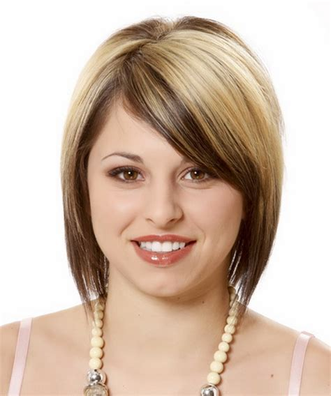 pretty hairstyles for a wide face cute short haircuts for round faces