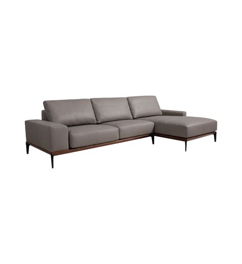 Denr 197 L Shape Sofa Leather Mulamu L Shaped Leather Sofa