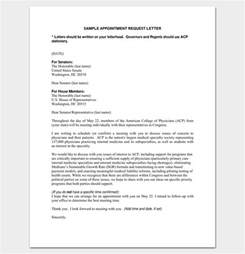 Appointment Letter Meeting Meeting Appointment Letter 9 Templates For Word Pdf Format