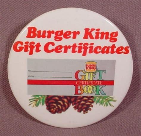 burger king printable gift cards pinback button mcdonalds burger king 3 1 2 quot round burger