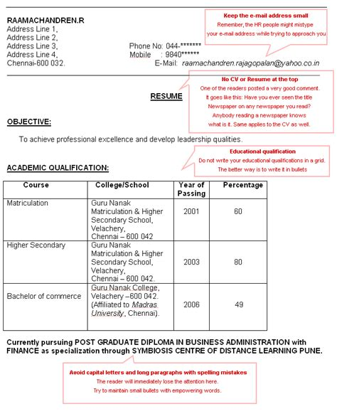 10 how to make cv for freshers lease template