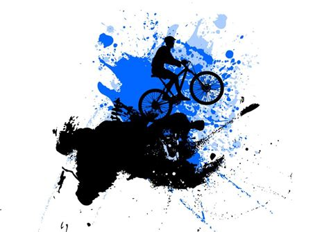 trek wall mural wall mural mountain bike abstract trek pixersize