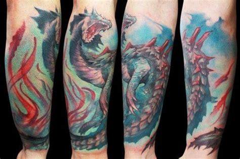 monster hunter tattoo buscar con documentacion