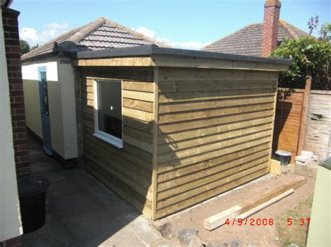 Flat Shed Roof Construction by Emler Building Services Ltd 94 Feedback Extension