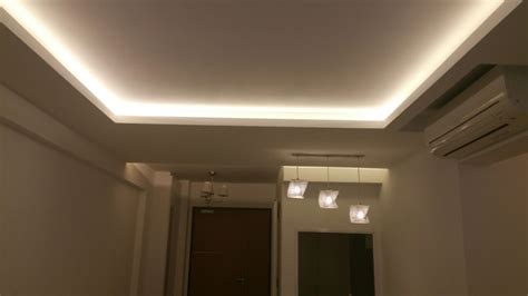 Island Ceilings False Ceilings L Box Partitions Ceiling Box Light