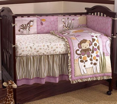 Unique Crib Bedding Sets Unique Baby Bedding Safari Purple And Brown Baby Bedding For Contemporary