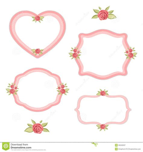 shabby chic border clipart clipart suggest