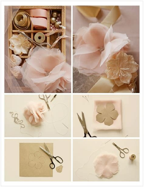 How To Make Paper Flowers For Wedding Decorations - vintage paper flower ideas weddings by lilly