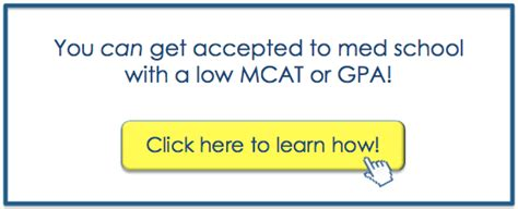 Get Mba With Low Gpa by Applying To Med School With A Weak Profile