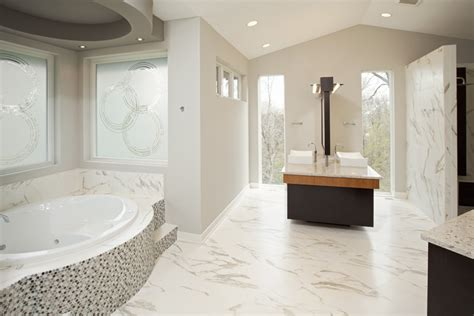 6 Must Haves to a Spa Like Master Bathroom Homes by Tradition