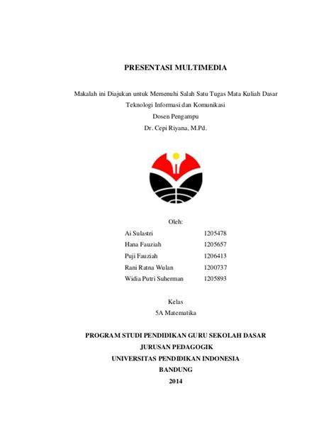 membuat makalah presentasi pdf presentasi multimedia kelompok 1