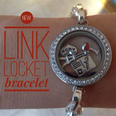 Link Locket Bracelet Origami Owl - new link locket bracelet jodigrundig origamiowl