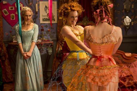 is cinderella film good disney s cinderella movie costumes blew me away i m not