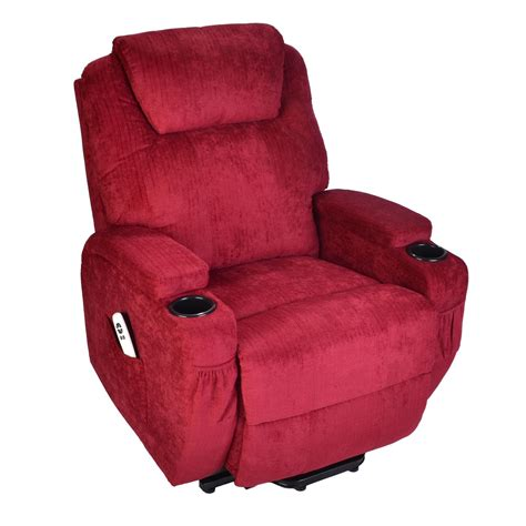 lift chair recliner burlington fabric dual motor electric riser recliner mobility lift chair ebay