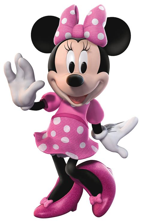 Dress Minny minnie mouse i the pink and white polka dot dress