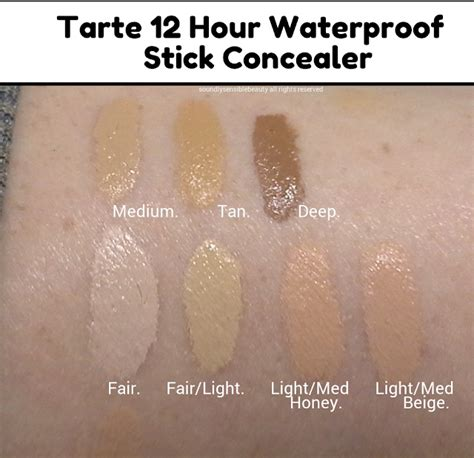 light medium tarte foundation tarte amazonian clay 12 hour waterproof concealer stick