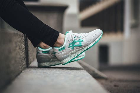 Asics Gel Lyte Iii 03 asics gel lyte iii white aqua green in sneakers