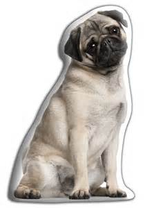 pug shaped pug shaped cushion