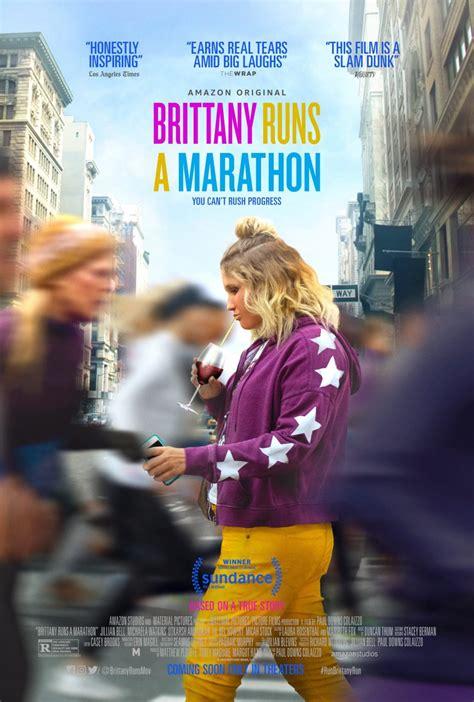 brittany runs  marathon trailer  poster   geek