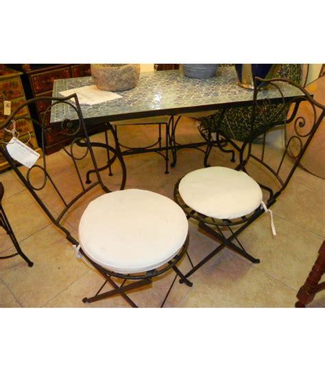 sedia in ferro battuto sedia pieghevole in ferro battuto emporio d oltremare