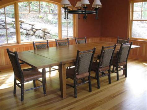 Dining Room Tables With Extensions by Reclaimed Wood Table With Extensions Farmhouse Dining