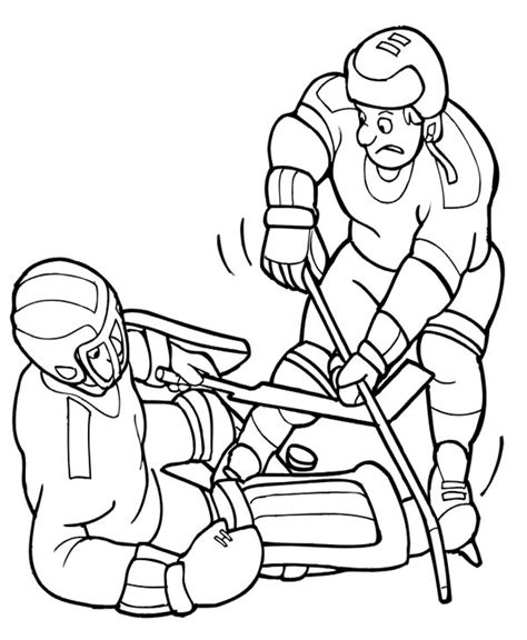 coloring page of hockey puck hockey puck coloring pages