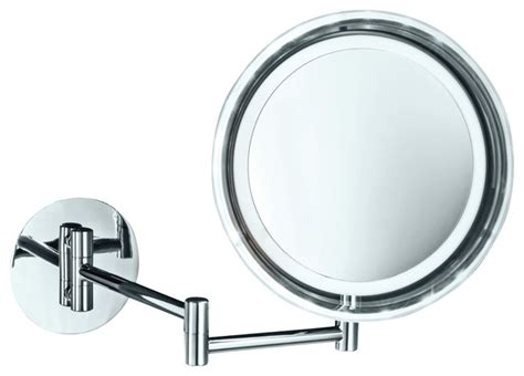 battery operated bathroom mirror smile 716 battery operated lighted makeup mirror 5x