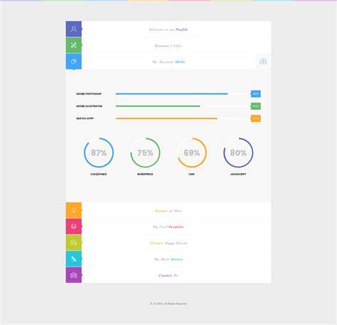 skills portfolio template image collections templates