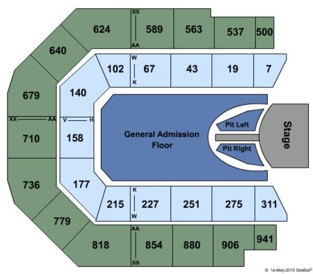 seating layout vector arena spark arena tickets and spark arena seating charts 2017