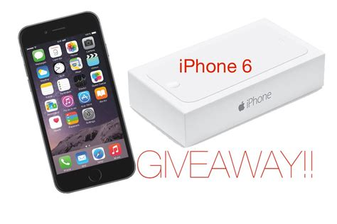 Iphone Giveaway 2014 - closed iphone 6 giveaway youtube