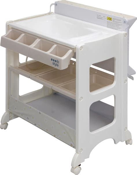 changing table bath 4 decors storage bath tub unit