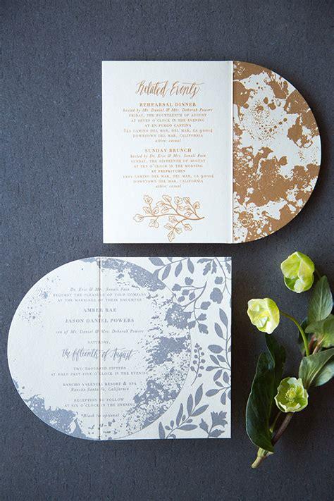 shimmery metallic moon and wedding invitations - Pretty Moon Wedding Invitations