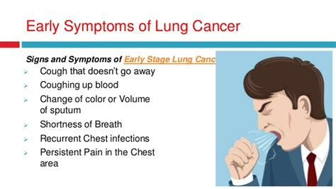 what color is lung cancer early symptoms diagnosis and detection of lung cancer