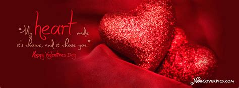 valentine day quote beautiful hearts happy valentines day fb cover photo