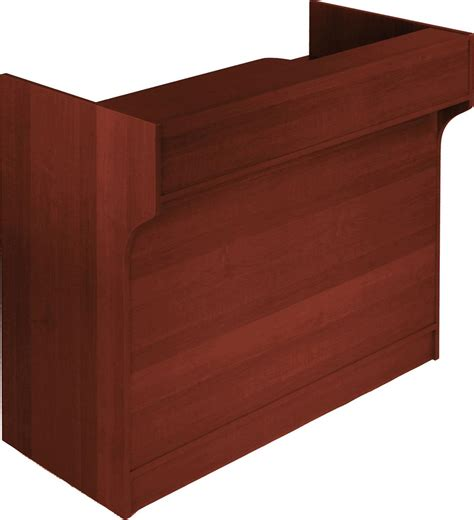 Check Drawer by This Wrap Counter Features A Check Writing Ledge And
