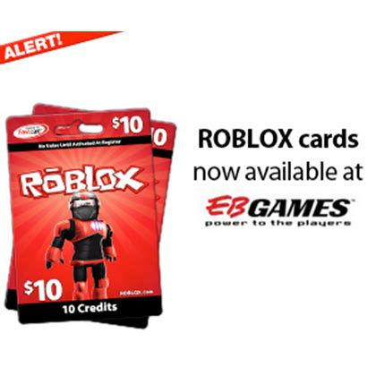 Roblox Gift Card - roblox cards available in eb games stores now roblox