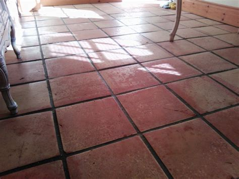 saltillo tiles in shirley grout protection