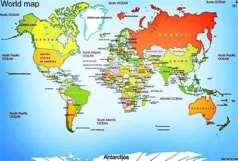country maps   world