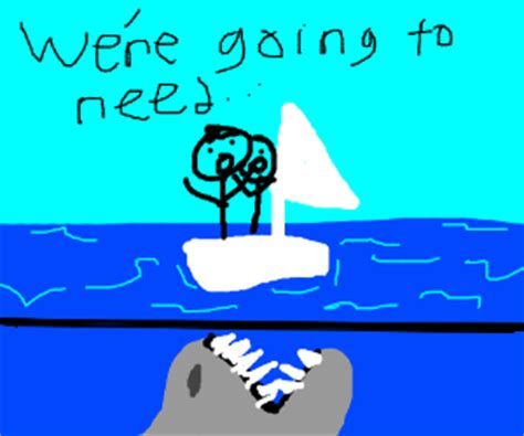 we re gonna need a bigger boat pirates of the caribbean shark balances chocolate on its nose drawception