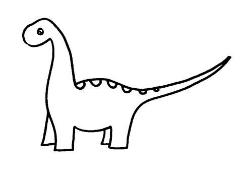 Dinosaur Clipart Black And White dinosaur clipart black and white pencil and in color