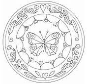 Free Coloring Pages Of Mandala Ostern