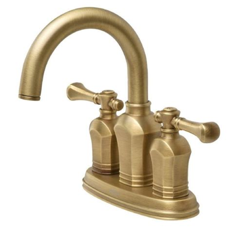 Unlacquered Brass Bathroom Faucet by Bringing Back The Brass Faucets For That Style