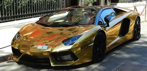 gold convertible lamborghini lamborghini aventador roadster lp700 dipped in gold