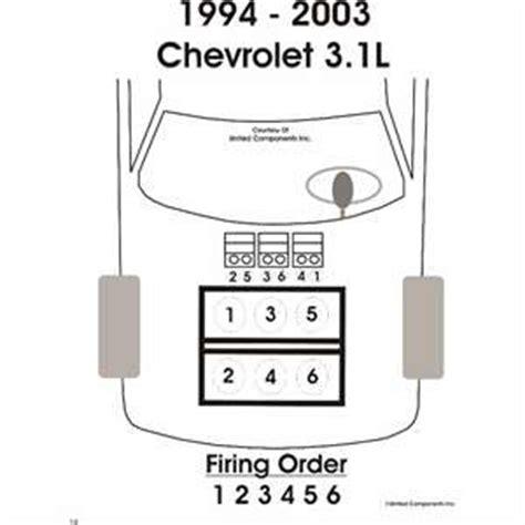 solved 2001 chevy malibu 3 1 liter sparkplug wiring fixya