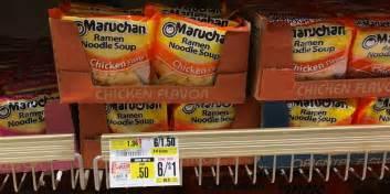 shoprite deal maruchan ramen noodle soup    packliving rich  coupons