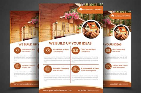 free professional brochure templates 10 professional real estate brochure templates free