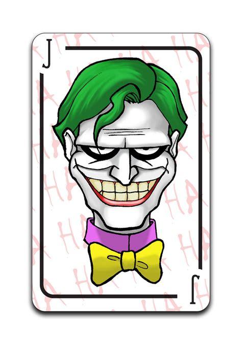 joker card by hellnan on deviantart