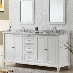 Vanity sink 70 inch classic pearl white double vanity sink cabinet
