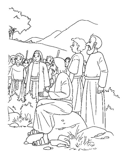 coloring page bible stories coloring pages